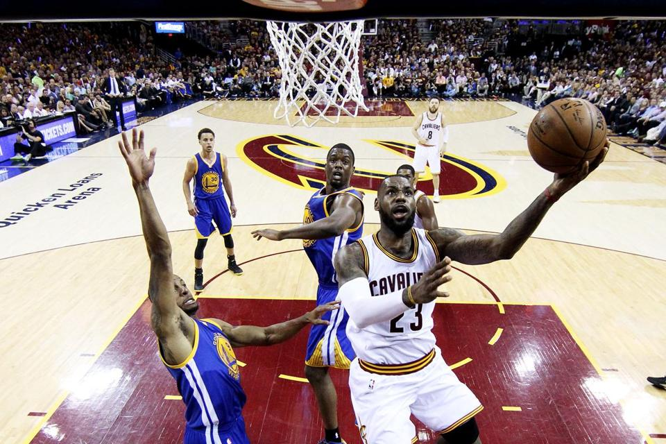 LeBron James and the Cavaliers will face the Warriors for the first time since the Finals on Christmas.