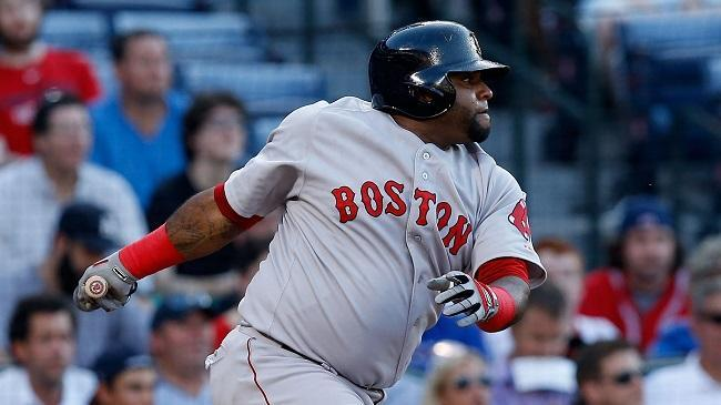 Pablo Sandoval won't be in the starting lineup Thursday for the Red Sox' game vs. the Braves.