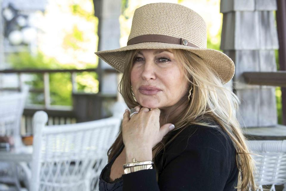 Honoree Jennifer Coolidge at the Land's End Inn in Provincetown.