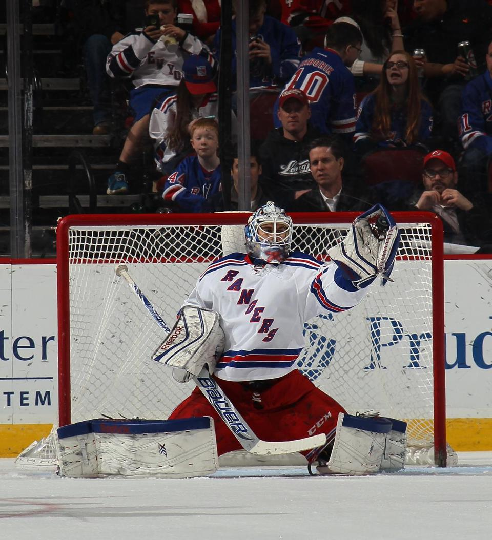 Last December, the Rangers re-signed Cam Talbot to a one-year, $1.45 million contract.