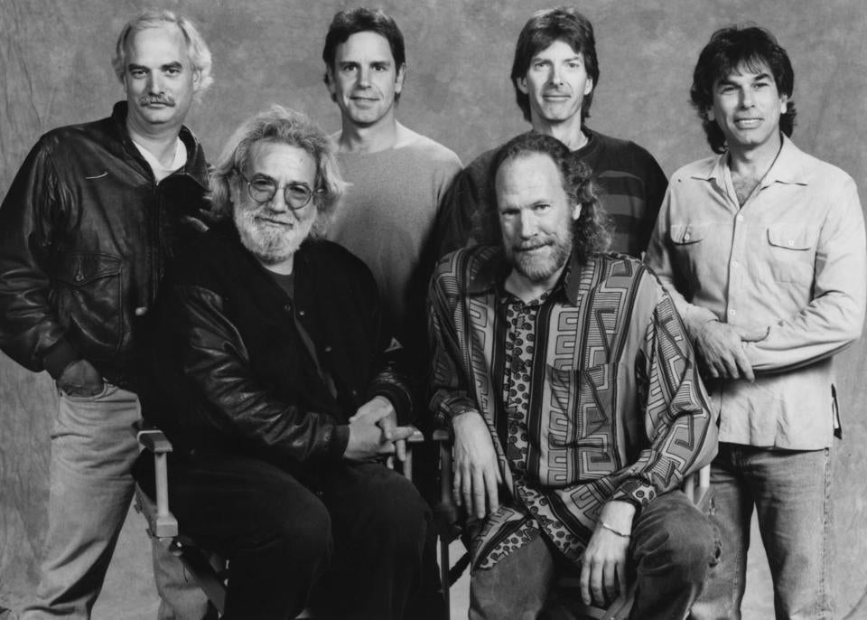 The Grateful Dead in 1993.