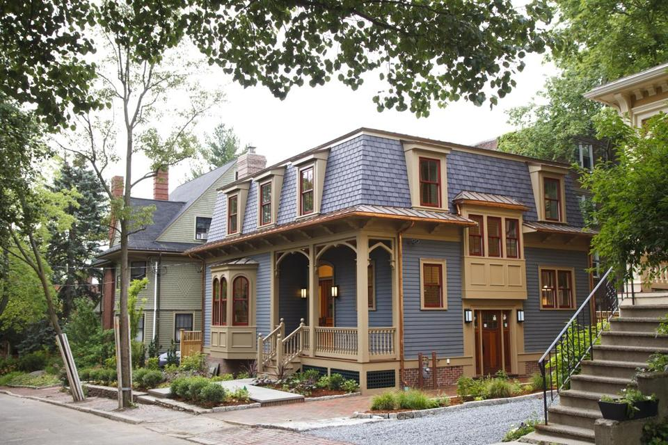 This Second Empire Victorian Is Brand Spanking New, From The Finished  Basement To