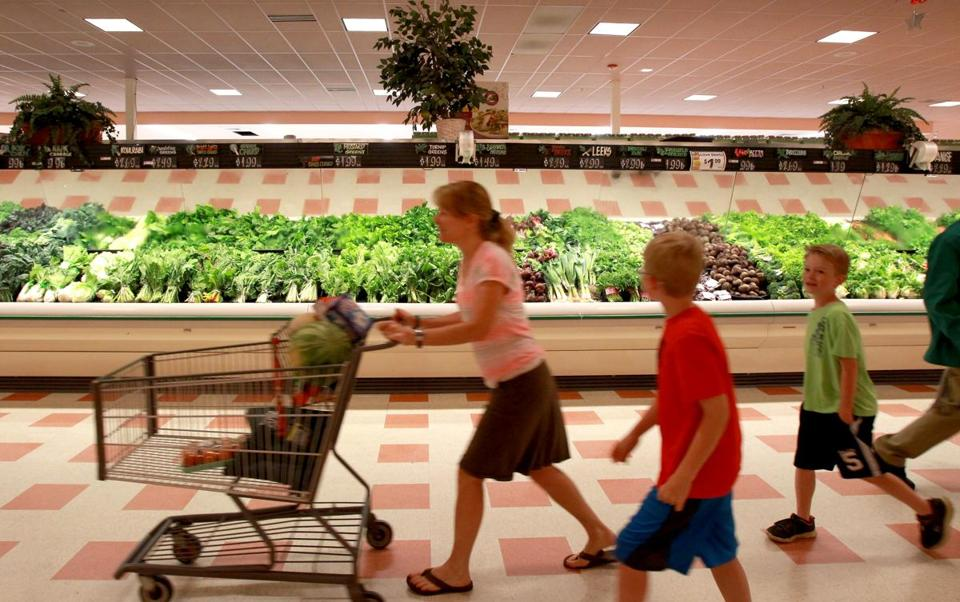 Market Basket stores, such as this one in Burlington, are now well-stocked.