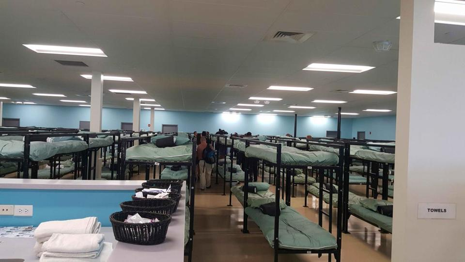 new image shelter City opens new homeless shelter to the public - The Boston Globe