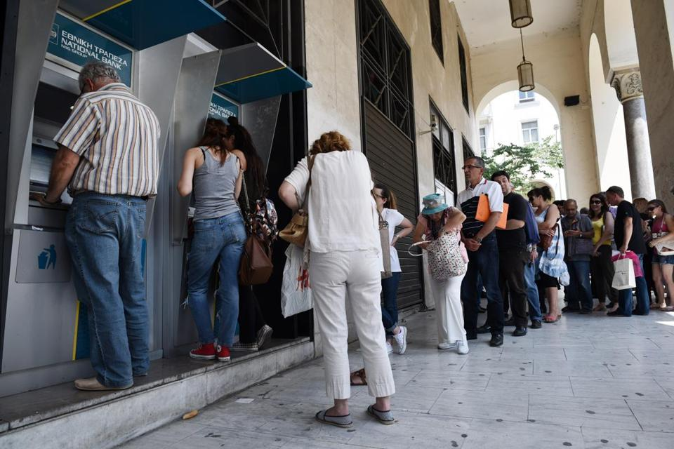 Greek government-debt crisis