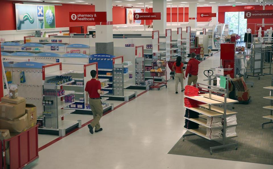 The main shopping floor at CityTarget, set to open at the end of July.
