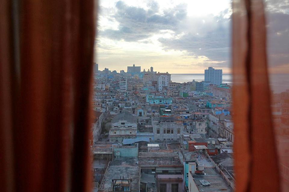 Havana, Cuba, 06/08/15, View from Hotel Seville. Suzanne Kreiter/The Boston Globe