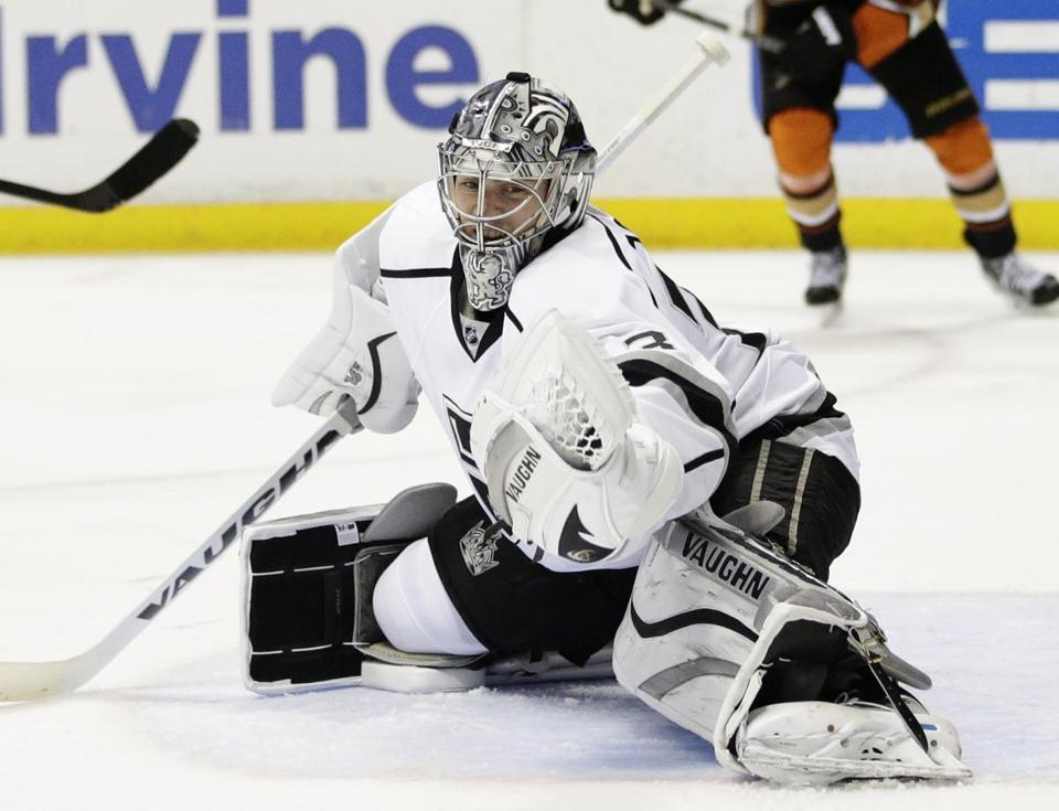 Martin Jones signed a three-year, $9 million contract with San Jose.