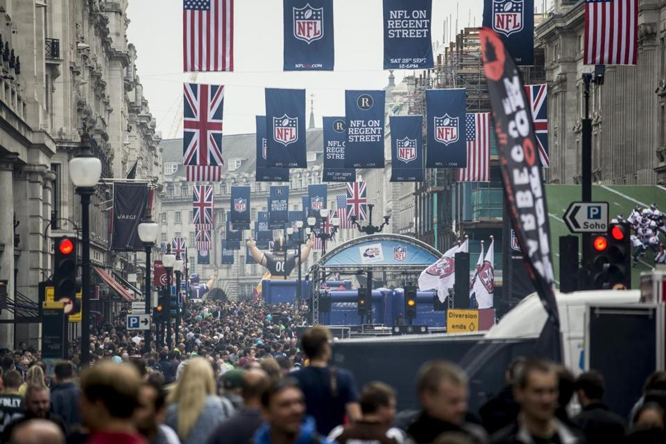 The NFL began playing games in London in 2007.