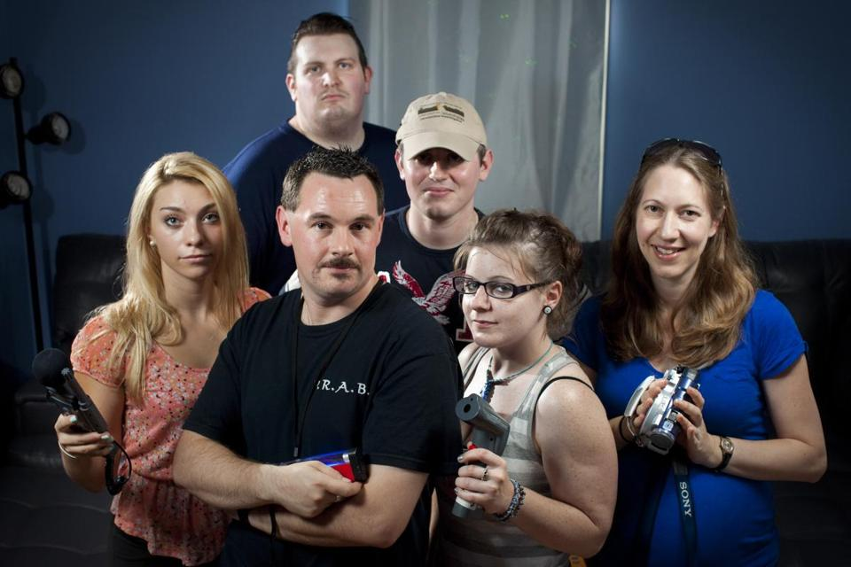 Lead investigator Ian Murphy (front) with PRAB team members (from left) Mia Swen-son, Brian Tully,  Sean Cronin, Jessica Allen, and Joanna MacGugan.