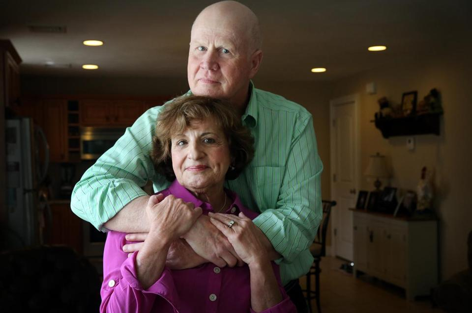 Susan Johnson (seen with husband, Jerry) discussed her end-of-life concerns with her children.
