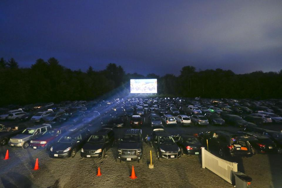 Night Out At The Mendon Twin Drive In The Boston Globe