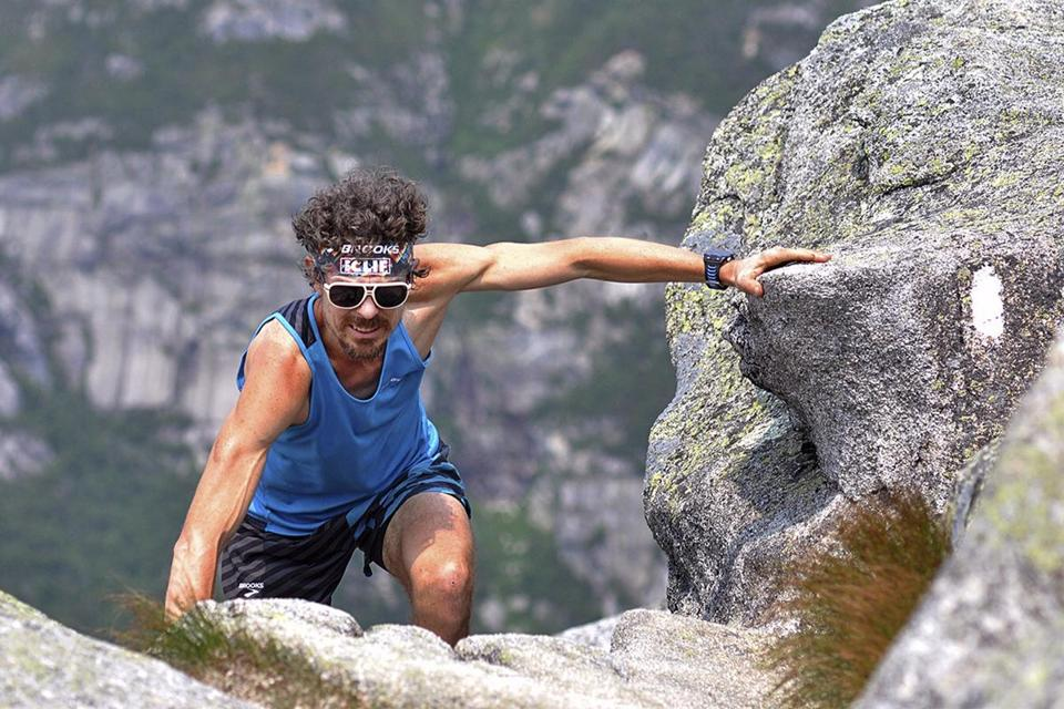 Scott Jurek finished the 2,189-mile trail in 46 days and eight hours.