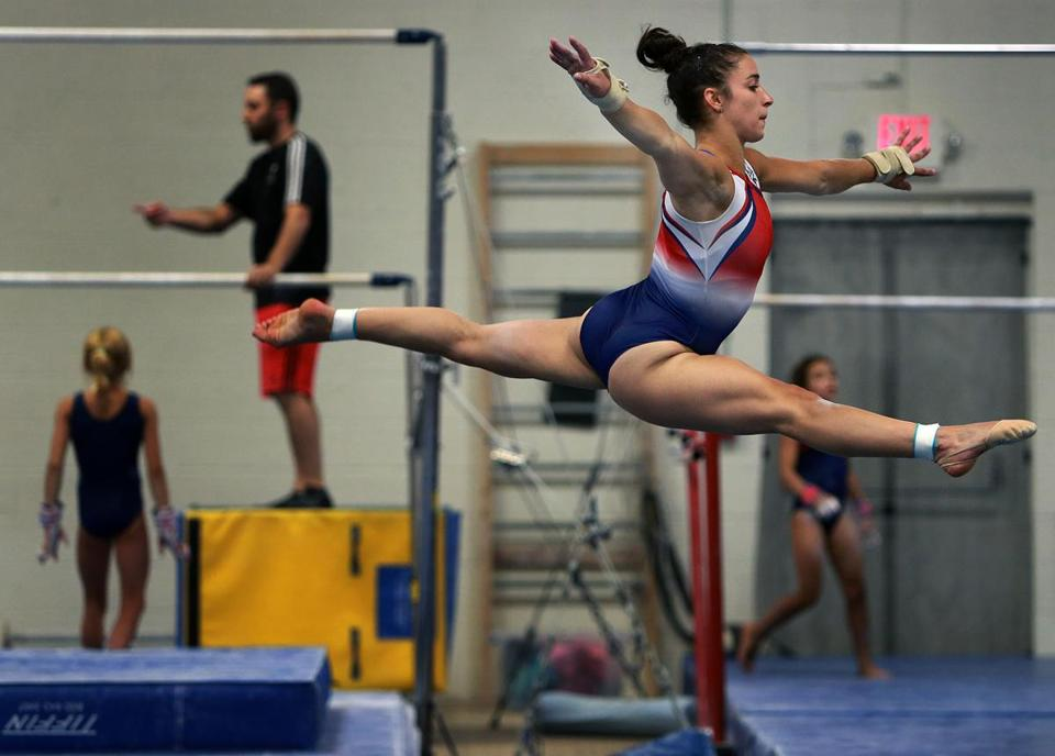 Confident aly raisman is back on the beam the boston globe aly raisman won three medals including two golds in london is back training at m4hsunfo