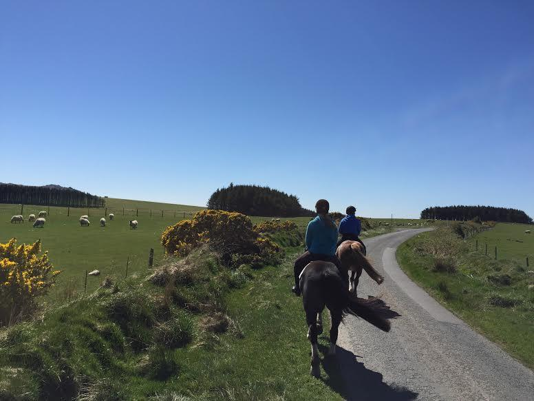 Riding to Roughtor in Cornwall.