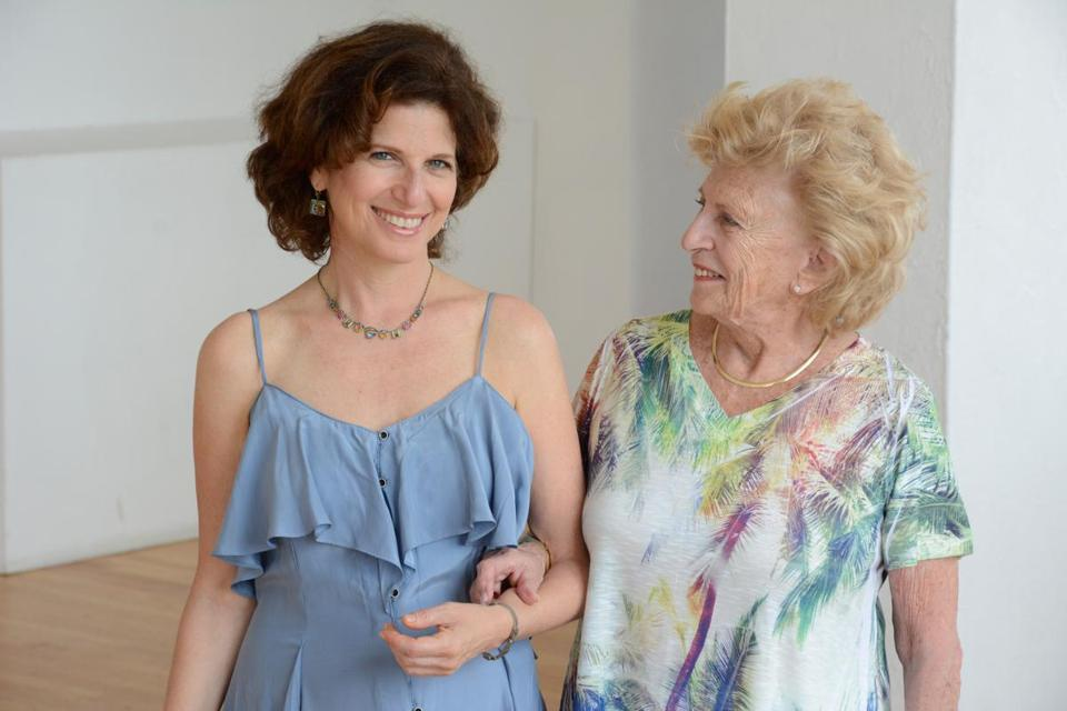 Gayle Kirschenbaum has made two films featuring her mom, Mildred.