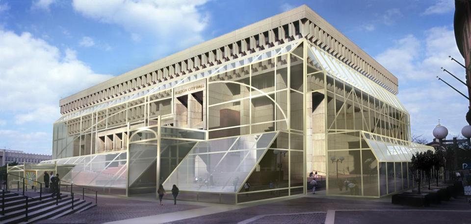 New Suffolk City Hall