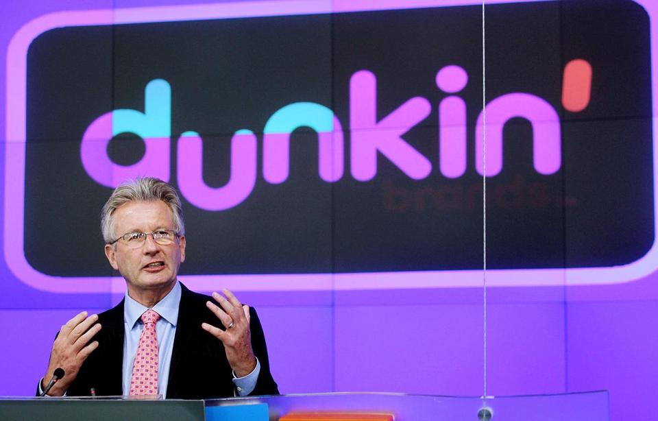 Nigel Travis, the Dunkin' CEO, commented on the wage increase during an interview with CNN.