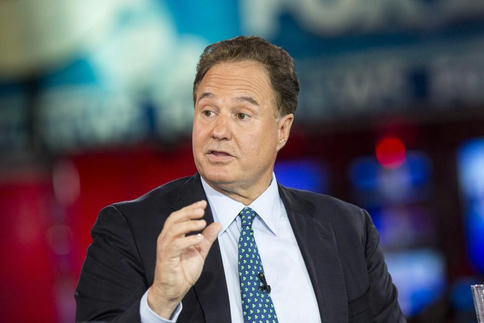 Dedham, Massachusetts - 7/23/2015 - Boston 2024 committee chairman Steve Pagliuca speaks during a debate to address the proposed Boston Olympics in Dedham, Massachusetts,July 23, 2015. (Keith Bedford/Globe Staff)