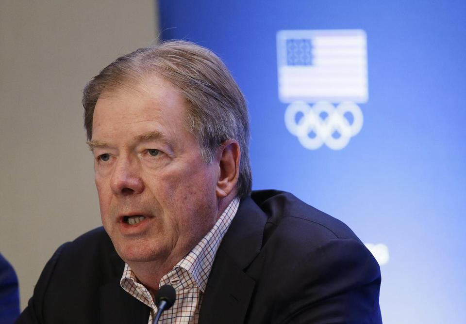 "USOC chairman Larry Probst said his committee wants to see a positive trend in public support for the Boston 2024 cause ""the sooner the better."""