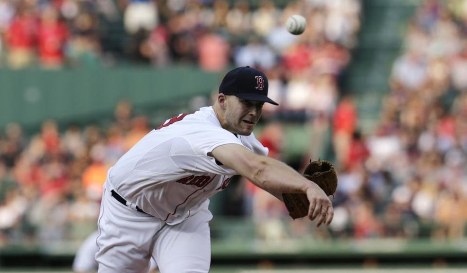 Justin Masterson has a 5.64 ERA in 52.2 innings pitched this season.
