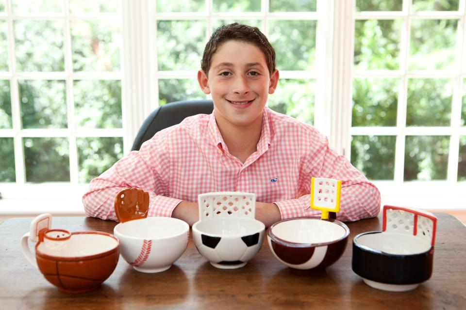 "Max Ash started with a simple idea — ""I like basketball and hot chocolate"" — to make  a mug designed for throwing marshmallows into the drink."