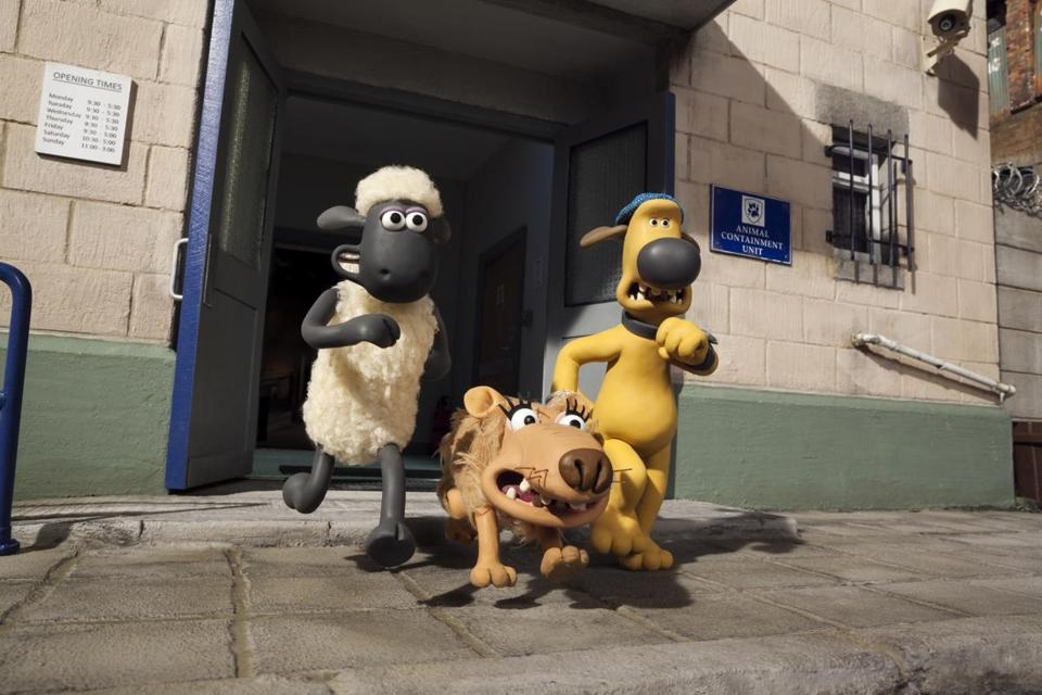 Shaun Left Slip And Bitzer Are Among The Characters In