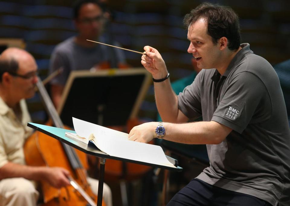 """In certain moments, [small gestures] would not sufficiently inspire,"" Andris Nelsons said."