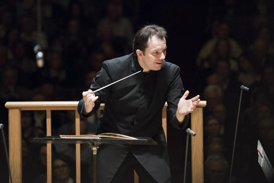 Andris Nelsons leads the BSO in Shosta-kovich in April.