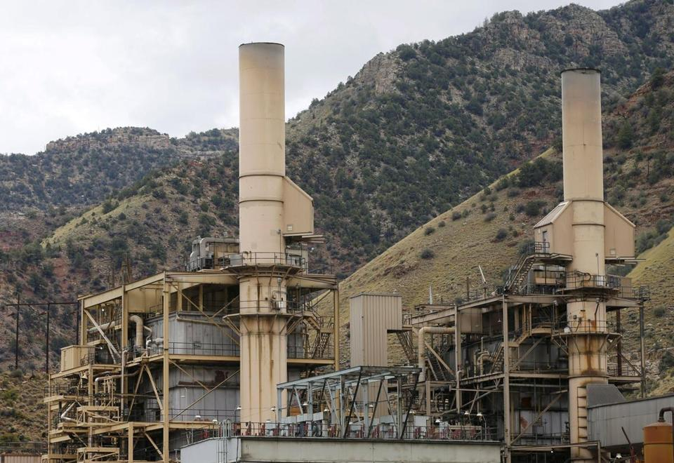The coal-fired Castle Gate Power Plant in Utah was closed in the spring in anticipation of new EPA regulations.