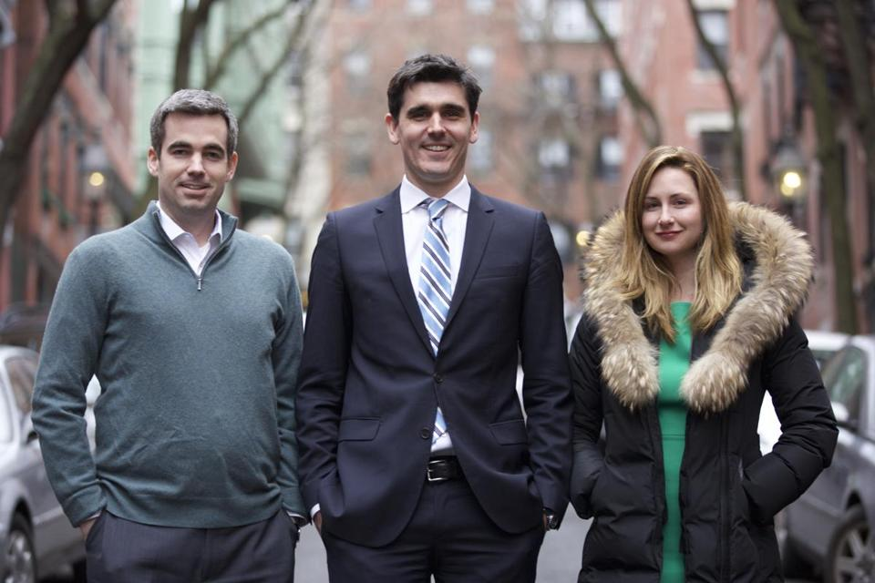 Liam Kerr, Chris Dempsey, and Kelley Gossett are the three young professionals behind No Boston Olympics.
