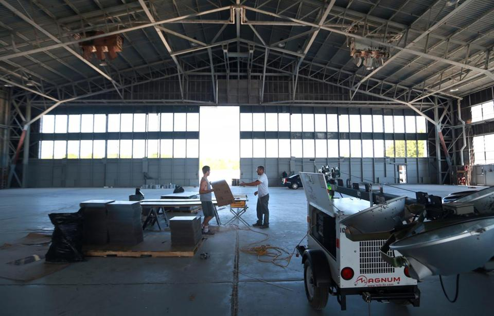 south weymouth base could end up with a movie studio after