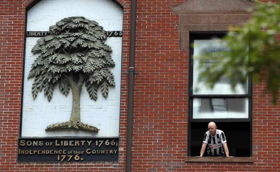 The Liberty Tree, long gone and mostly forgotten, marks 250th ...