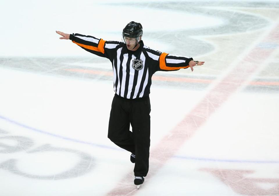 The NHL is doing its best to find new officials, trying to expose current players from the midget level to college and juniors to the possibility.