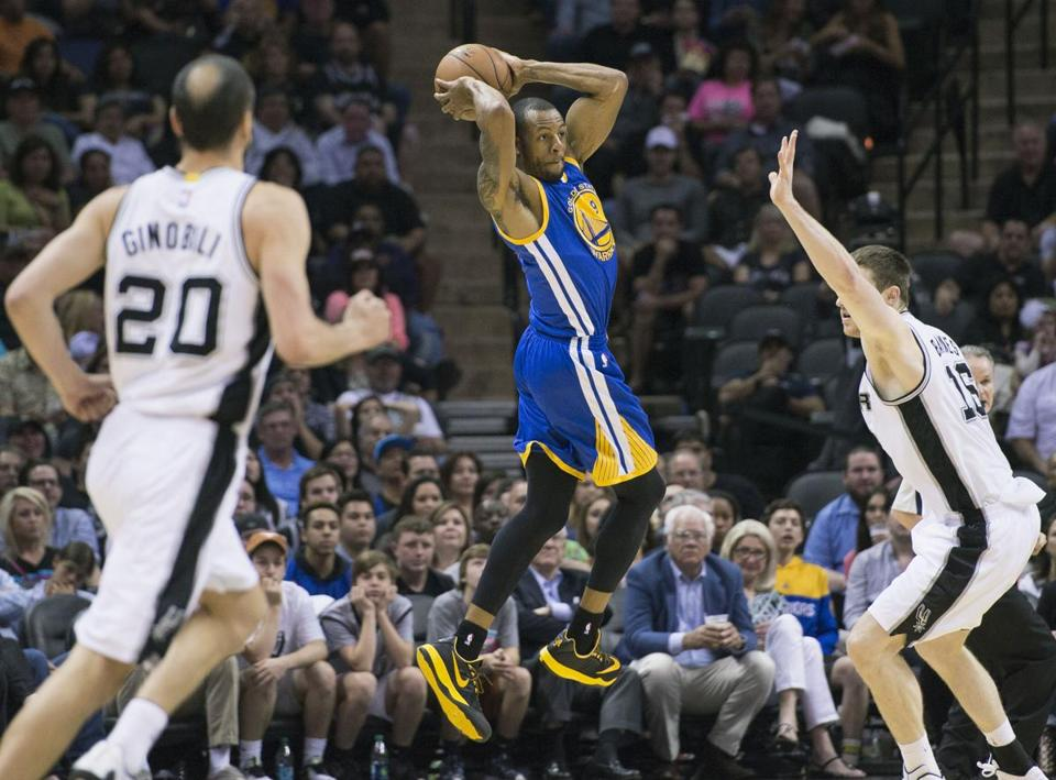 The Spurs and the Warriors met twice in the final week of last season.
