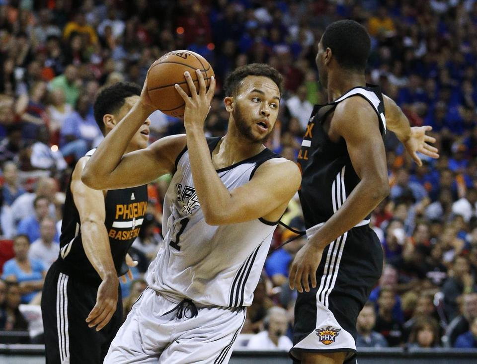 Kyle Anderson averaged 21 points in seven summer league games this year.