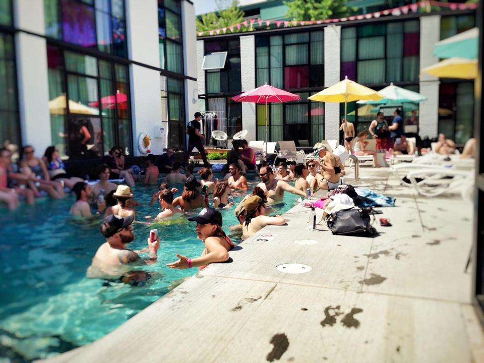 1384953ef7 Make a splash in the Hub s hotel pools - The Boston Globe