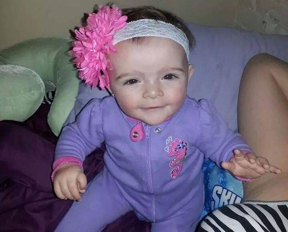 Avalena, 2, died on Saturday.