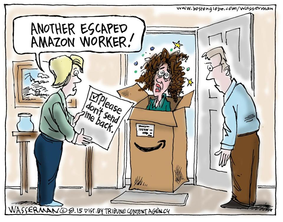 Image result for cartoon of  jeff bezos