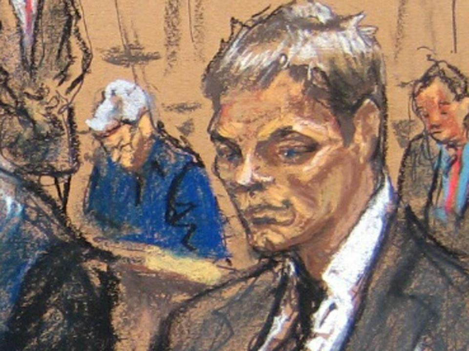 Jane Rosenberg's sketch, which showed a frowning Tom Brady looking down as he sat on a courtroom bench, turned into an Internet meme.