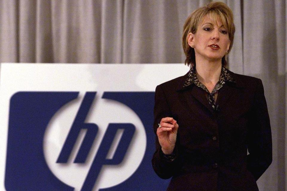 Carly Fiorina was CEO of Hewlett-Packard from 1999 to 2005.