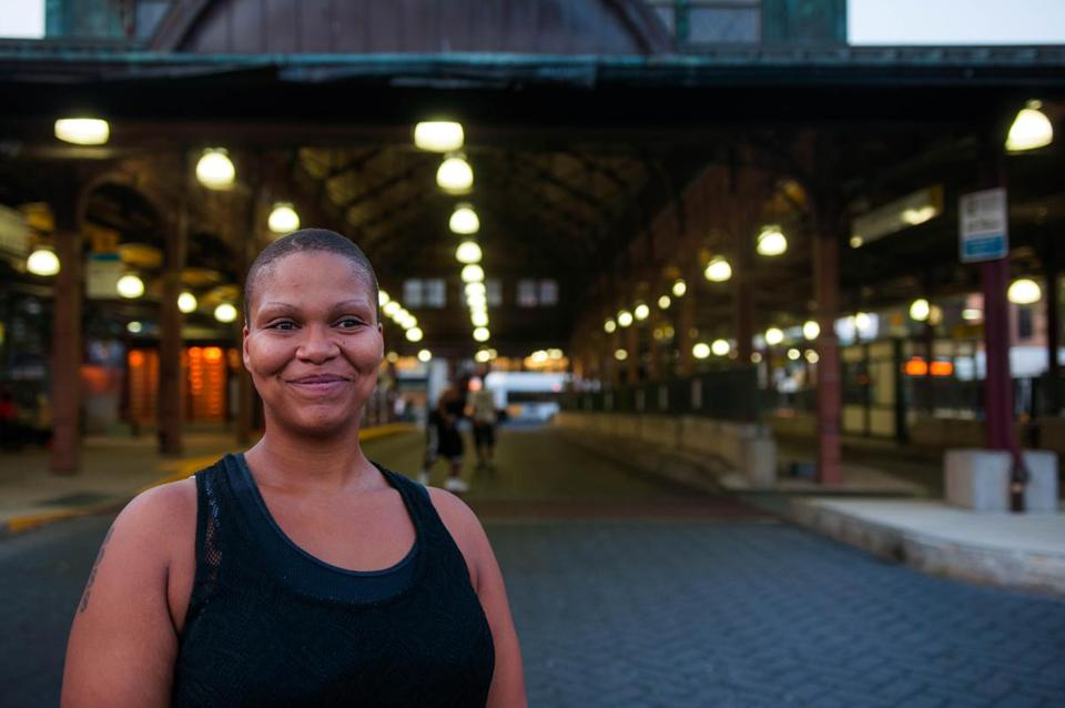 Mary Holmes, a Roxbury resident, has accused the MBTA Transit Police of violating her civil rights by assaulting her after she attempted to report their aggressive behavior.