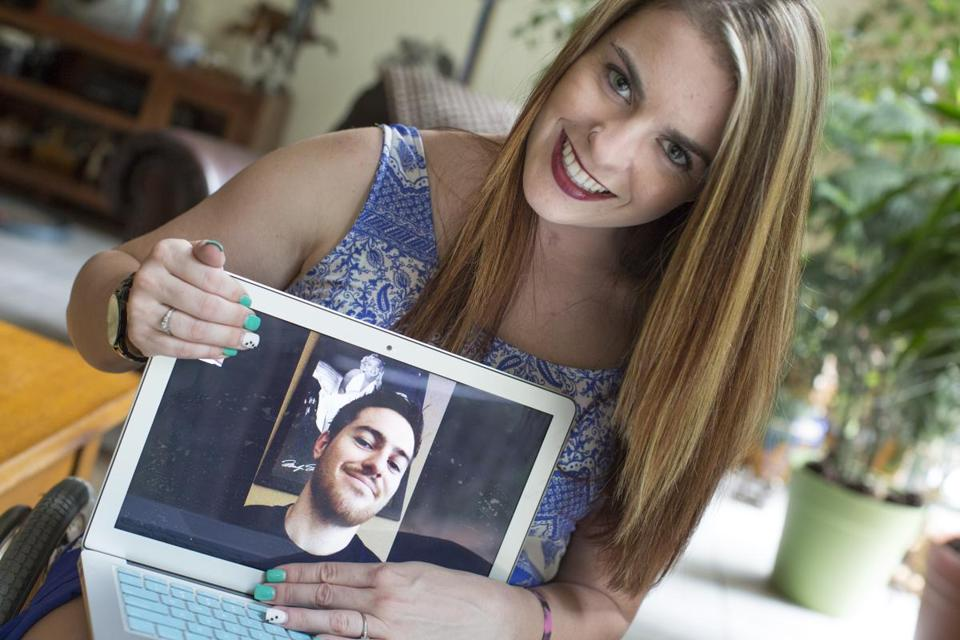 Stracham and Fallis frequently video chat.