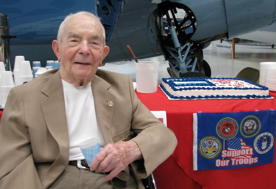 In 2011, Frederick R. Payne celebrated his 100th birthday at the Palm Springs Air Museum in California.