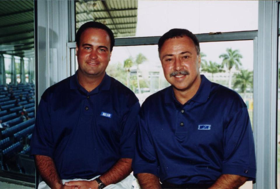 Don Orsillo and Jerry Remy. The Red Sox broadcast Team for NESN.
