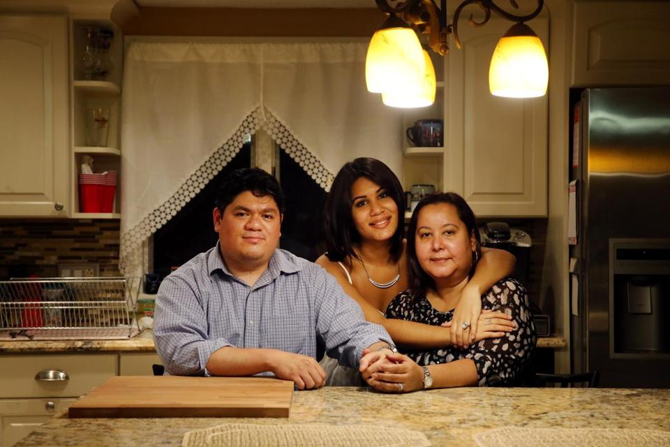 Maria Sanchez-Lopez (right), with husband Lyle Lopez and daughter Felicia Torres, sought an affordable home for years.