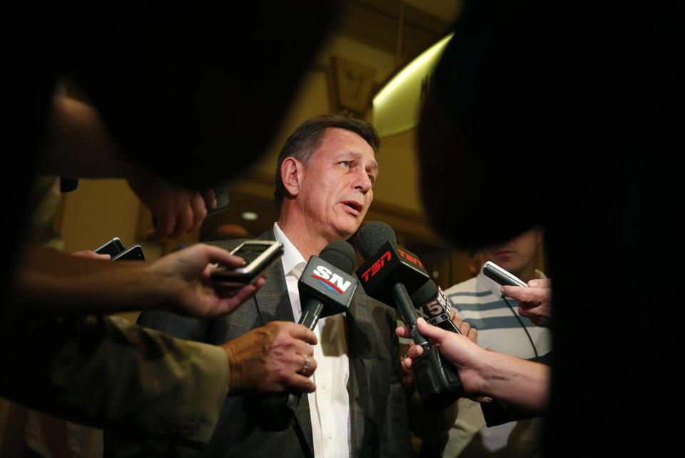 Ken Holland favors keeping players with Detroit's AHL affiliate than rushing them.