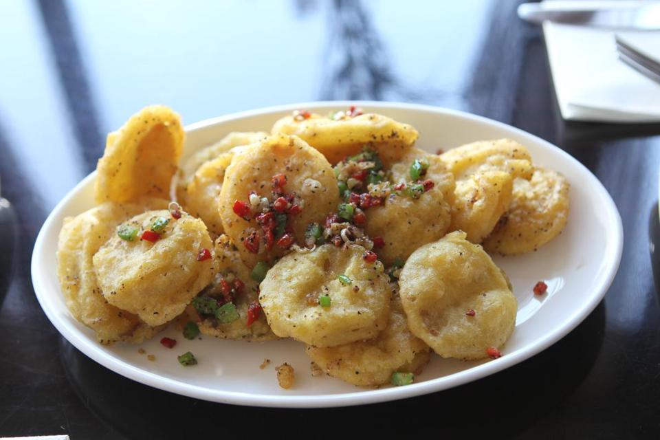King Oyster Mushrooms At Zhu Pan Asian Vegan Cuisine