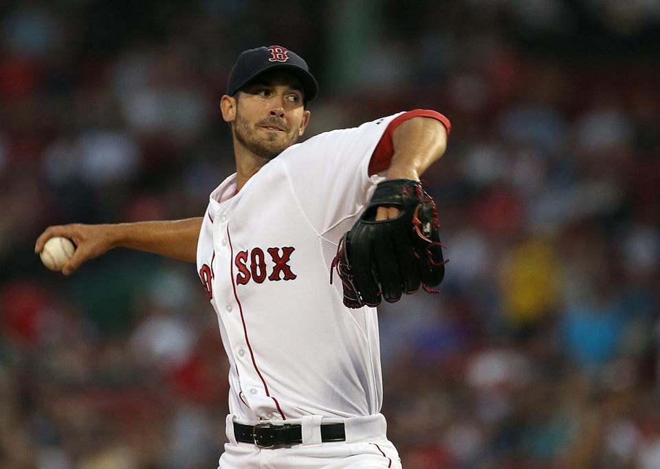Rick Porcello had a career-high 13 strikeouts in the loss to the Yankees.