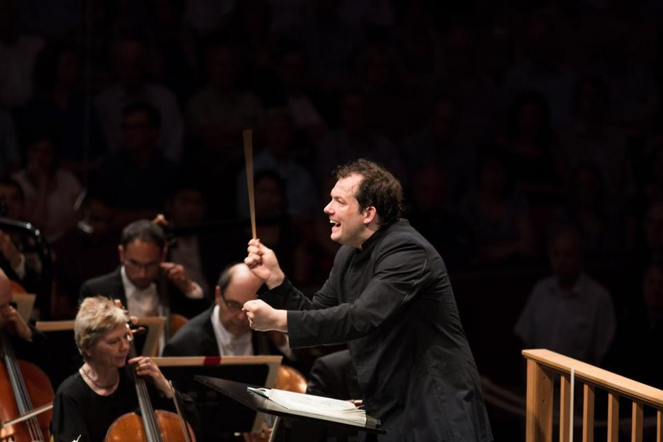 For Boston Symphony Orchestra music director Andris Nelsons, art is a healing force.